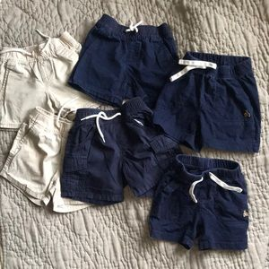 Baby gap shorts (6pairs)